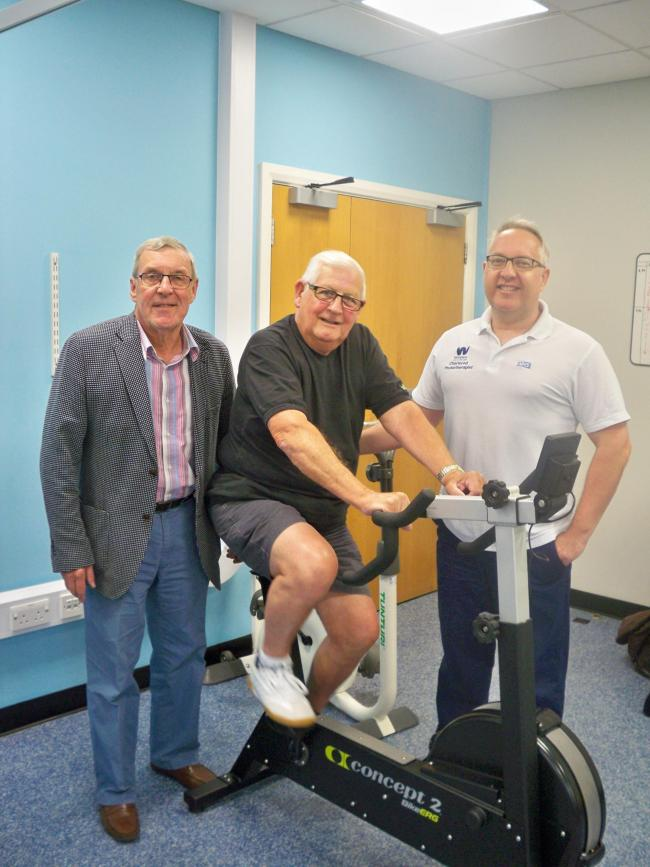 Malmesbury League of Friends (MLOF) has presented the Malmesbury outpatients physiotherapy department at the Malmesbury Primary Care Centre (MPCC) with new equipment costing just under £5,000