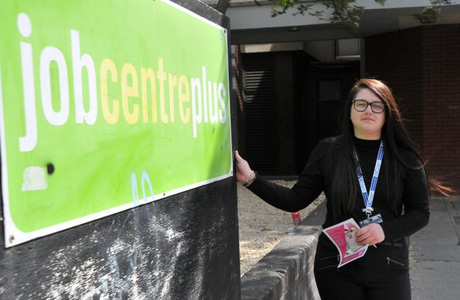 Universal Credit feature at Jobcentre, pictured at Jobcentre Plus, Spring Gardens House..Pic - Amiee Steel.Date 28/5/19.Pic By Dave Cox..