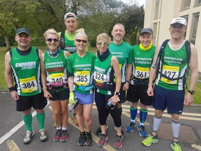 Members of Swindon Striders had an enjoyable run at the recent Marlborough Downs Challenge race