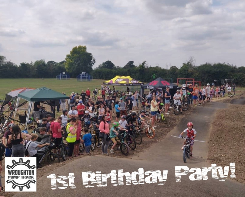 Wroughton Pump Track 1st Birthday