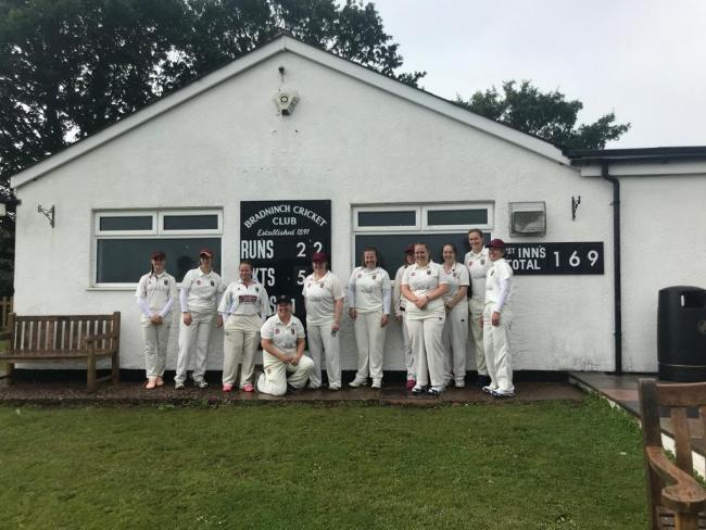The Devizes CC Ladies team